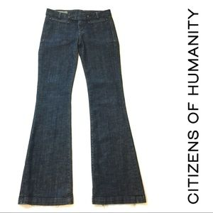Citizens of Humanity Phoebe Denim Flare Trouser 28